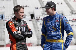 Christopher Bell, Kyle Busch Motorsports Toyota Chase Briscoe, Brad Keselowski Racing Ford