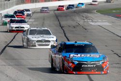 Kyle Busch, Joe Gibbs Racing, Toyota vor Kevin Harvick, Stewart-Haas Racing, Ford