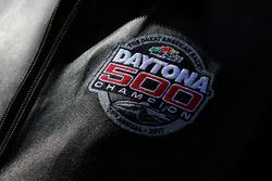 Gene Haas, Haas Automotion President with Daytona 500 champion badge