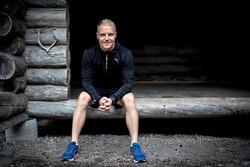 Valtteri Bottas trains for the inaugural Valtteri Bottas Duathlon