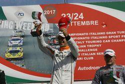 Nicola Baldan, Pit Lane, Seat Leon TCR-TCR festeggia la vittoria sul podio