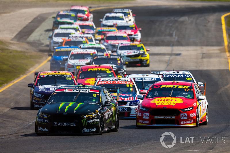 Richie Stanaway, Prodrive Racing Australia Ford, Alexandre Prémat, Team Penske Ford