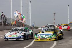 Santiango Mangoni, Dose Competicion Chevrolet, Omar Martinez, Martinez Competicion Ford, Juan Manuel Silva, Catalan Magni Motorsport Ford