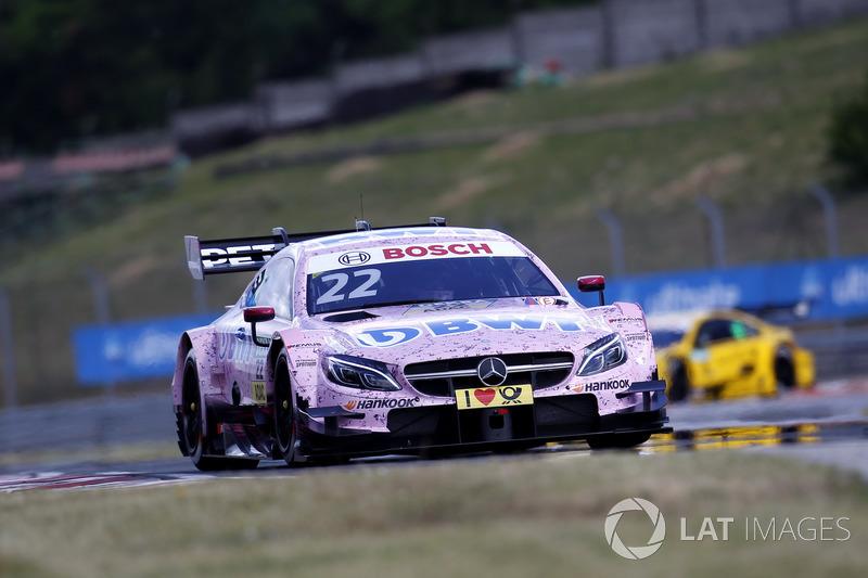 Ausfall: Lucas Auer, Mercedes-AMG Team HWA, Mercedes-AMG C63 DTM