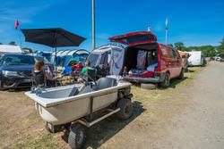 Camping nabij het circuit
