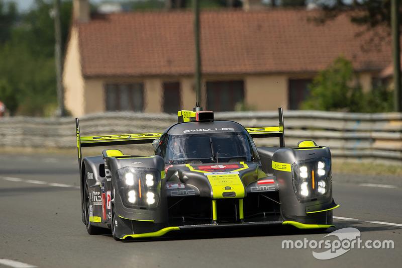 Ausfall LMP1: #4 ByKolles Racing, CLM P1/01