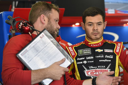 Kyle Larson, Chip Ganassi Racing Chevrolet, Chad Johnston