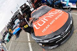 Denny Hamlin, Joe Gibbs Racing Toyota, Kyle Busch, Joe Gibbs Racing Toyota and Matt Tifft, Joe Gibbs