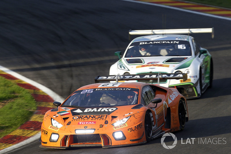 21. #27 Orange 1 Team Lazarus, Lamborghini Huracan GT3