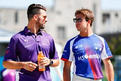 Jose Maria Lopez, DS Virgin Racing, et Antonio Felix da Costa, Amlin Andretti Formula E Team