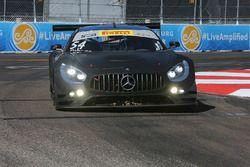 #54 Black Swan Racing, Mercedes AMG GT3: Tim Pappas