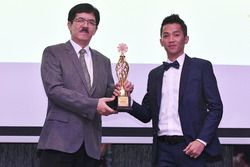 Presiden FIM Asia, Wan Zaharuddin Wan Ahmad dan Wahyu Aji Trilaksana