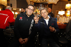 Dominik Greiner, Teammanager All-Inkl Motorsport und Roberto Ravaglia, Roal Motorsport