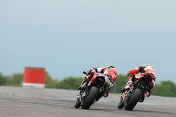 Eugene Laverty, Milwaukee Aprilia, Chaz Davies, Ducati Team