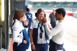Claire Williams, Karun Chandhok