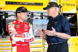 Matt Kenseth, Joe Gibbs Racing, Toyota, mit Joe Gibbs