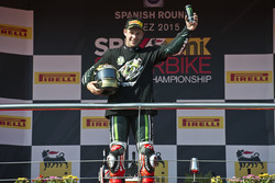 Jonathan Rea, Kawasaki Racing, sacré Champion à Jerez, 2015