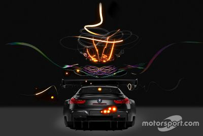 BMW M6 GT3 Cao Fei Art Car unveil
