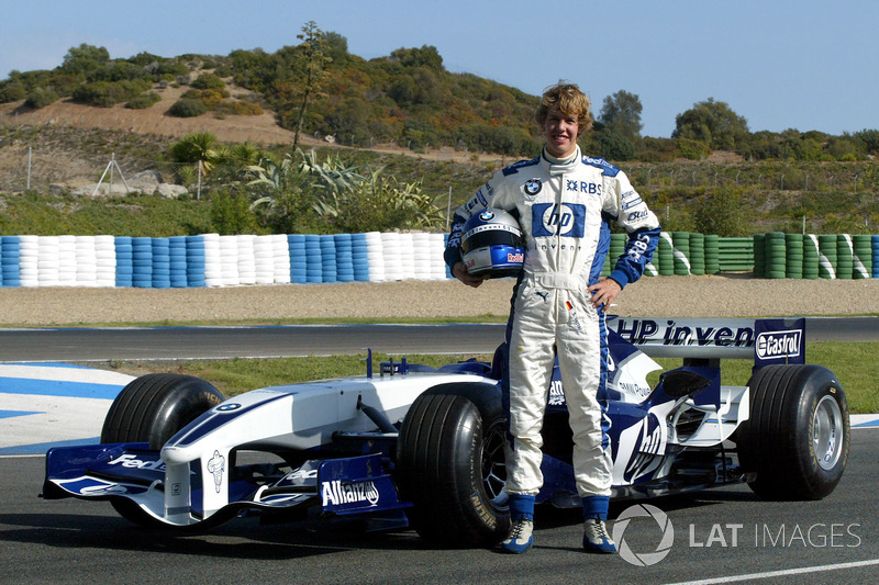 Sebastian Vettel: 2005 – Williams