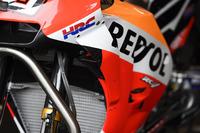 Neue Verkleidung am Bike von Marc Marquez, Repsol Honda Team