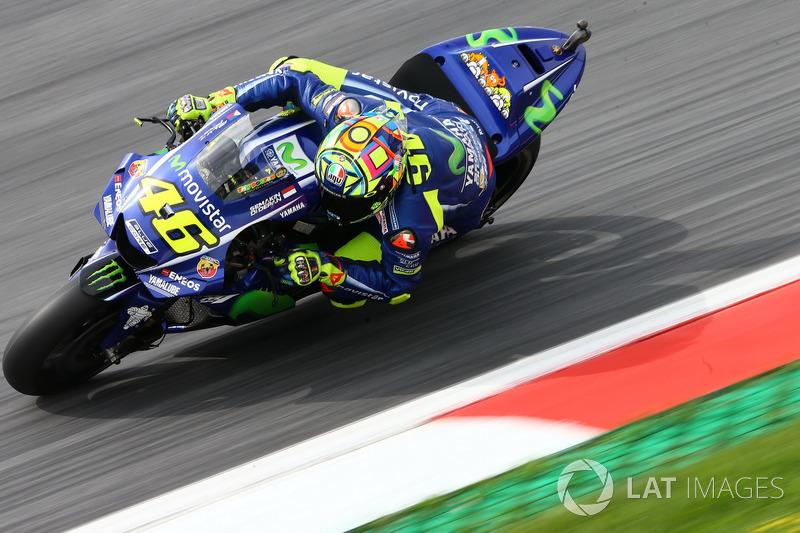 7. Valentino Rossi, Yamaha Factory Racing