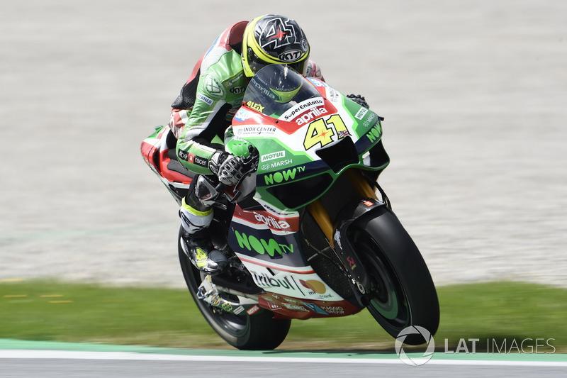 20. Aleix Espargaro, Aprilia Racing Team Gresini