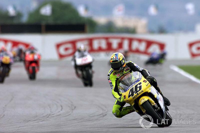 Rio de Janeiro: Valentino Rossi, Honda
