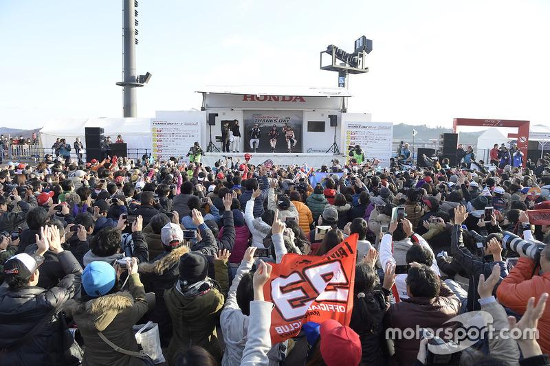 2016 Honda Racing Thanks Day Honda Talk Show con Fernando Alonso, Dani Pedrosa y Marc Márquez