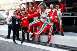 Het team van Pierre Gasly, PREMA Racing viert de GP2-titel