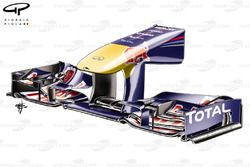 Red Bull RB7 front wing