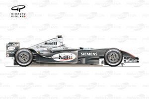 McLaren MP4-19 side view