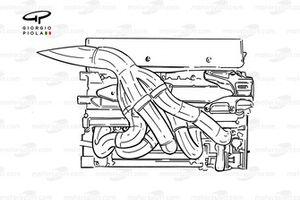 Benetton B201 engine