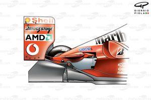 Задняя часть Ferrari F2001 (652)