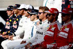 Felipe Massa, Williams, at the drivers photo call