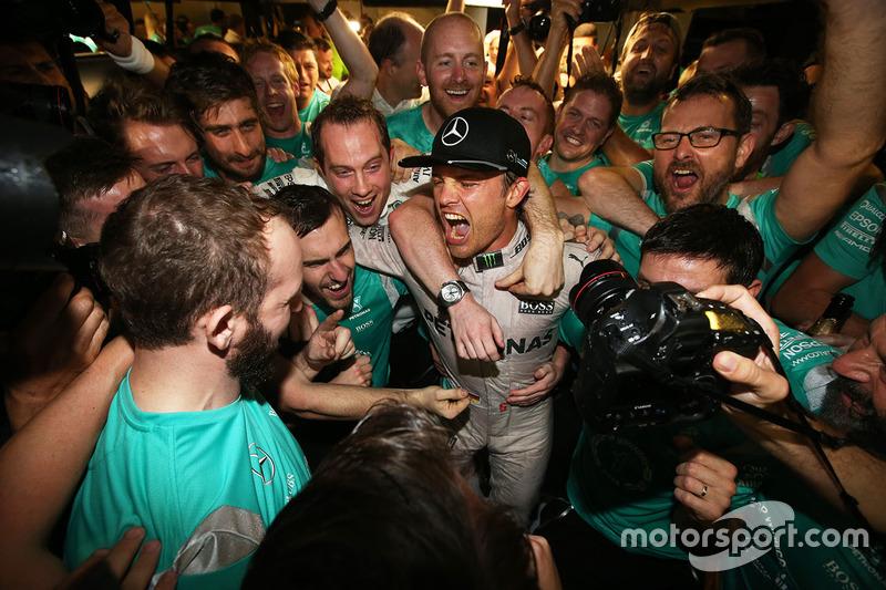 GP de Abu Dabi 2016 (Campeón Nico Rosberg)