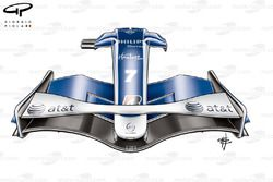 Williams FW30 2008 front wing and nose