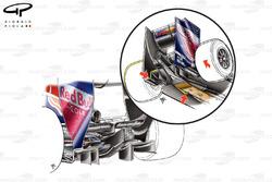 Diffuseur de la Red Bull RB5, à Silverstone