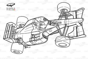 Vue d'ensemble de la Benetton B192