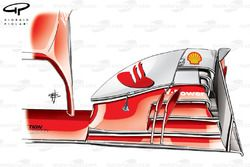 Aileron avant de la Ferrari F138, Italie