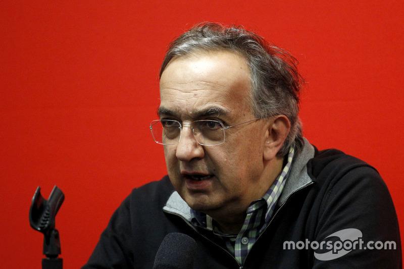 Conferencia de prensa: Sergio Marchionne, Presidente de Ferrari
