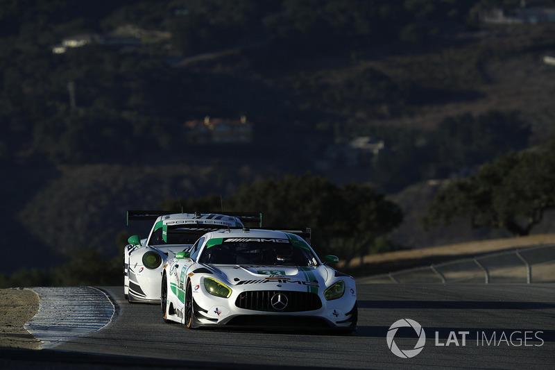 #33 Riley Motorsports Mercedes AMG GT3: Jeroen Bleekemolen, Ben Keating