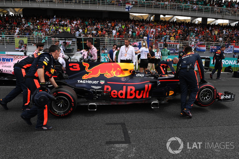 Red Bull Racing RB13 Даніеля Ріккардо