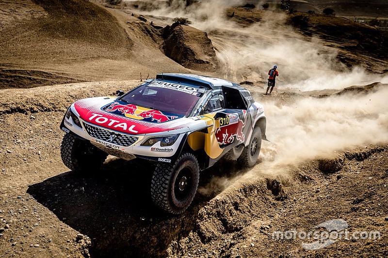 #310 Peugeot Sport Peugeot 3008 DKR: Carlos Sainz, Lucas Cruz