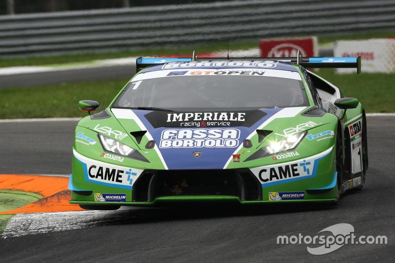 #1 Imperiale Racing Lamborghini Huracan GT3: Thomas Biagi, Raffaele Gianmaria