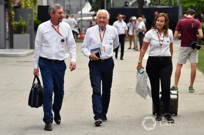 Charlie Whiting, Delegato FIA
