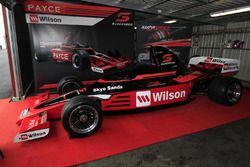 Super5000 car on display at Sandown
