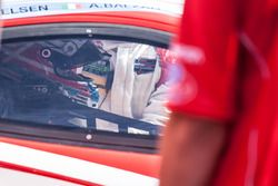 #63 Scuderia Corsa Ferrari 488 GT3: Christina Nielsen