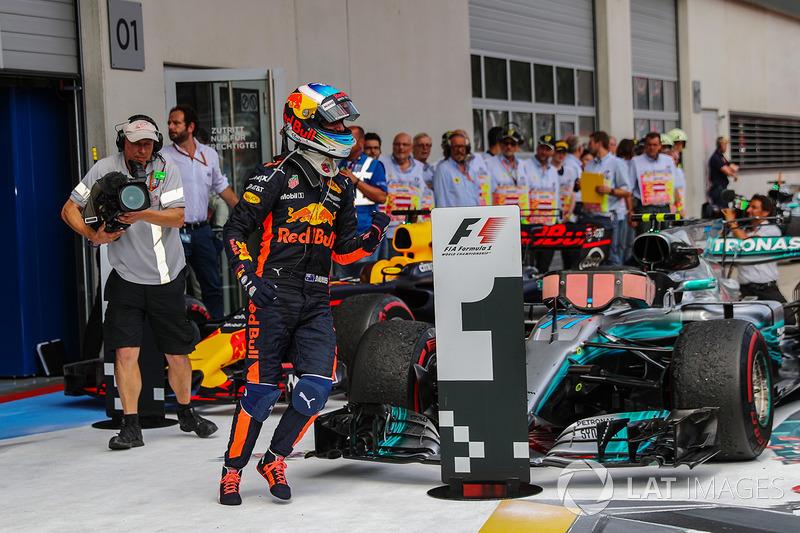 Tercero Daniel Ricciardo, Red Bull Racing