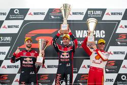 Podium: 1. Jamie Whincup, Triple Eight Race Engineering Holden; 2. Scott McLaughlin, Team Penske Ford; 3. Shane van Gisbergen, Triple Eight Race Engineering Holden