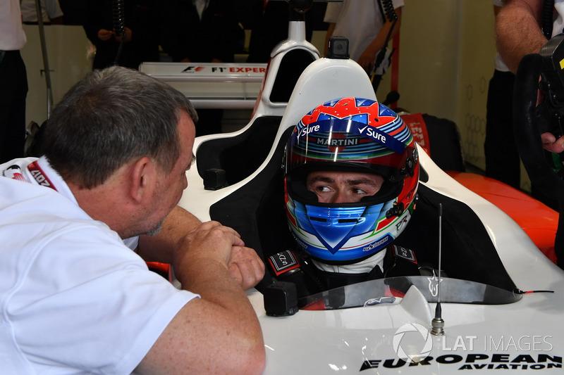 Paul Stoddart, Paul di Resta, F1-Doppelsitzer